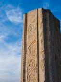 Ancient Temple Column, Melkote, India. — Stock Photo