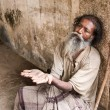 Old Indian Beggar — Stock Photo #64875229