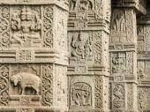 Temple PIllars - Nanjangud — Stock Photo