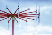 Antenna in private airport — Stock Photo