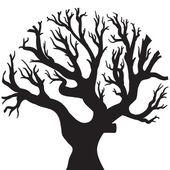 Disegno dell'albero vettoriale — Stock vektor