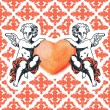 Sweet cupid - greetings card for Valentines day — Stock Vector #62321445