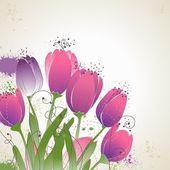 Tulipani — Vettoriale Stock
