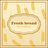 Bakery label — Stock Vector