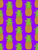 Ananas — Stockvektor