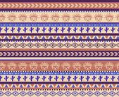 Warrior pattern — Stock vektor
