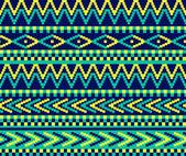 Pixeled brazil pattern — Stock Vector