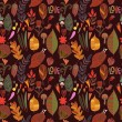 Autumn seamless pattern — Stock Vector #58284139