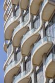 Building Terrace Closeup — Stock Photo