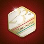 Classy and modern golden emblem — Stock Vector #58793363