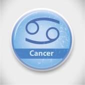 Horoscope sign Cancer — Stock Vector