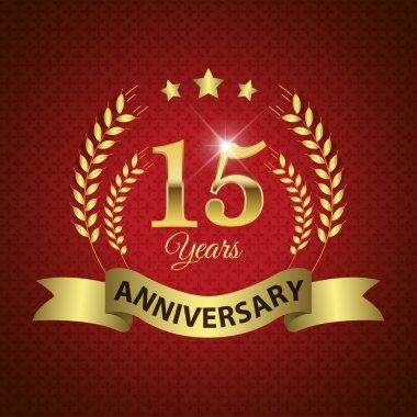15 Years Anniversary Seal