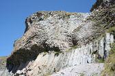 Volcanic education - rocks — Stock Photo
