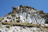 Volcanic education - rocks — Photo