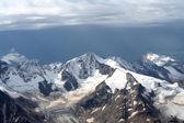 Gloomy mountain landscape — Stock Photo