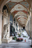 Arcades on Vysehrad in Prague — Stock Photo
