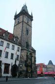 Staromestske Square in the city of Prague for Christmas — Foto de Stock