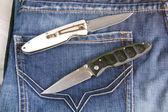 перочинный нож — Стоковое фото