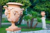 Terracotta vase — Stock Photo