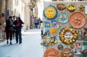Souvenirer från Sicilien — Stockfoto