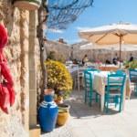 Mediterranean fishing village — Stock Photo #70691805