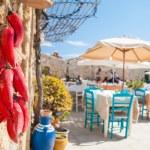 Mediterranean fishing village — Stock Photo #70691843