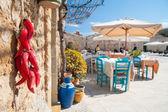 Mediterranean fishing village — Stock Photo
