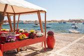 Středomořské rybářská vesnice — Stock fotografie