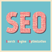 Search Engine Optimization factors design — Stock Vector
