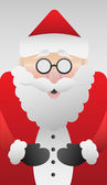 Cute santa claus vector — Stock vektor