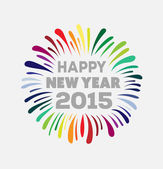 Happy new year 2015 vector  — Stock Vector