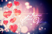 Valentinstag vektor — Stockvektor