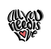 All you need is love vector — Stock Vector