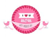 Digitally generated Mothers day — Stock Vector