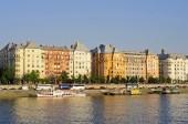 Along Danube in Budapest — Stock Photo