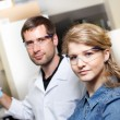 Scientists research in a lab environment — Stock Photo #74722331