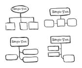 Drawn infographics  — Stock Vector