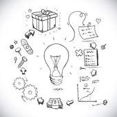 Idea projektu — Wektor stockowy