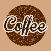 Design café — Vecteur