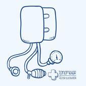 Progettazione di medicina — Vettoriale Stock