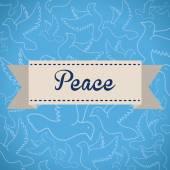 Peace design — Stock Vector