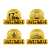 Investment design  — Stock Vector