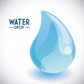 Projeto gota de água — Vetorial Stock