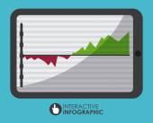 Projeto de estatísticas — Vetor de Stock