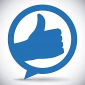 Hand gesture design  — Vetor de Stock