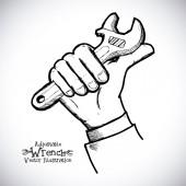 Hand tool  — Stock Vector