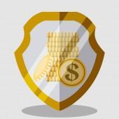 Projeto de dinheiro — Vetor de Stock