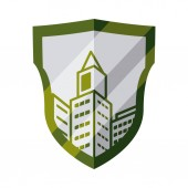 Buildings design  — Stock Vector