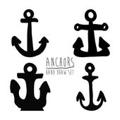 Anchor design  — Stock Vector