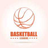 Koszykówka plakat — Wektor stockowy